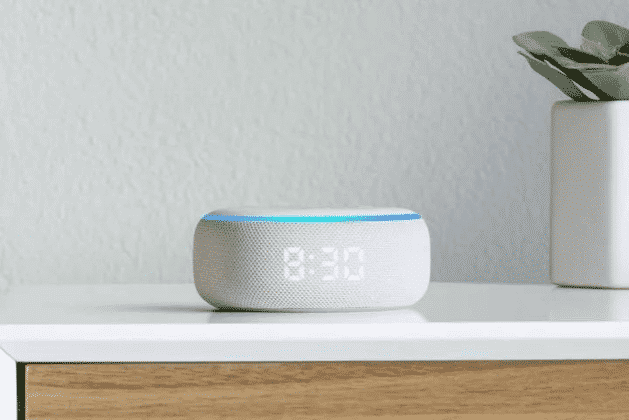 echo dot clock