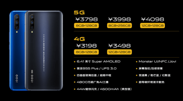 iqoo pro 5g specification
