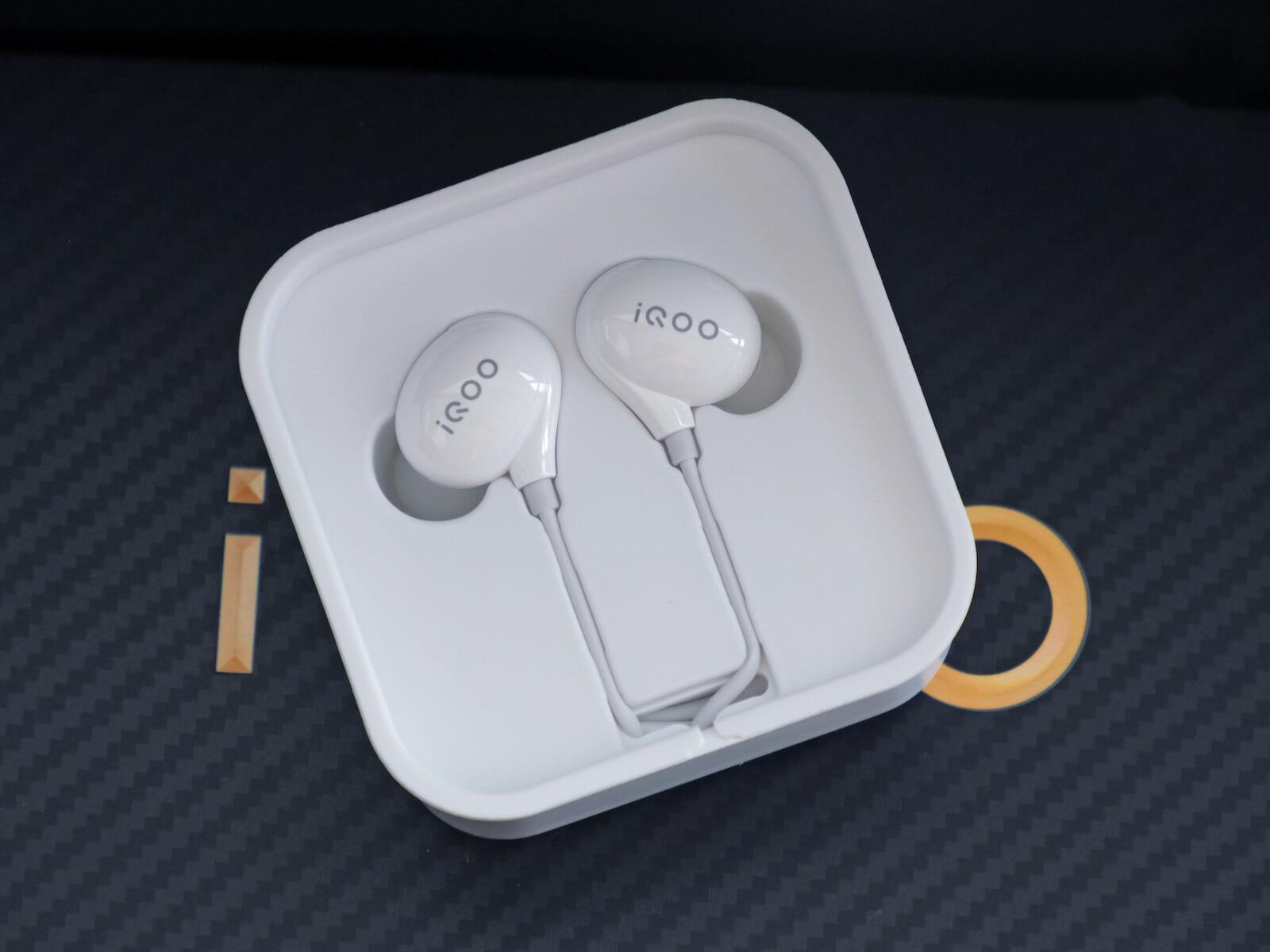iqoo pro earphone