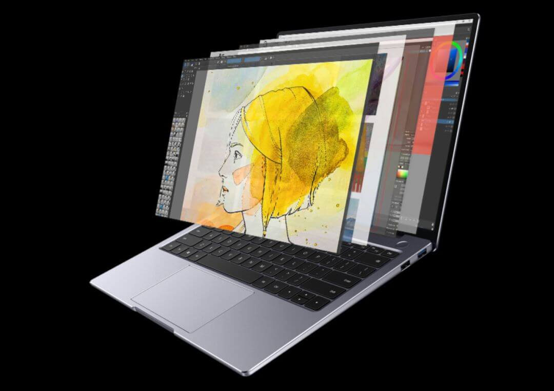 Huawei Matebook 14 Software and Performance