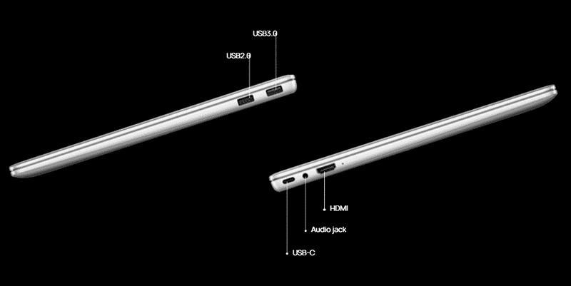Huawei Matebook 14 Ports