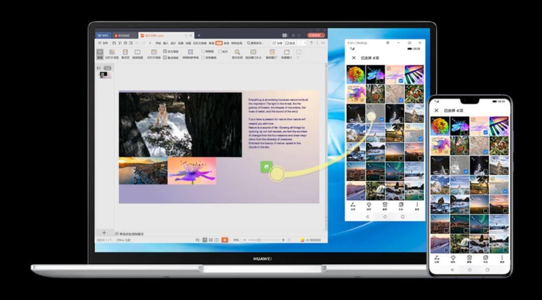 Huawei Matebook 14 Multi Screen Collaboration