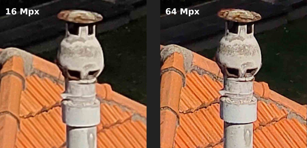 More details by zooming in on the 64 megapixel image
