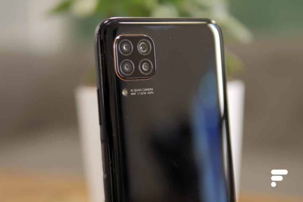 The camera of the Huawei P40 Lite