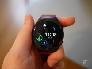 The Huawei Watch GT 2e dial