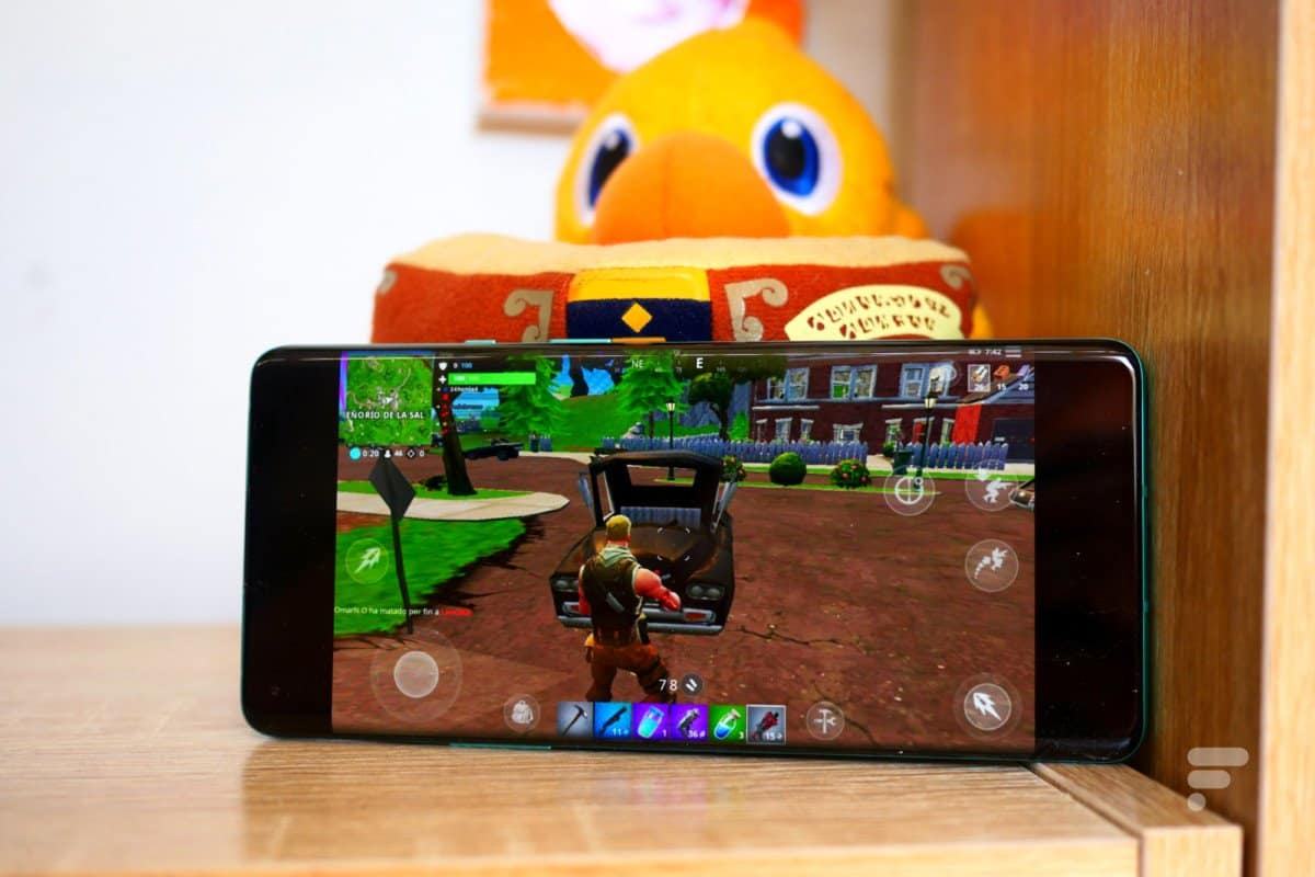 Fortnite on the OnePlus 8