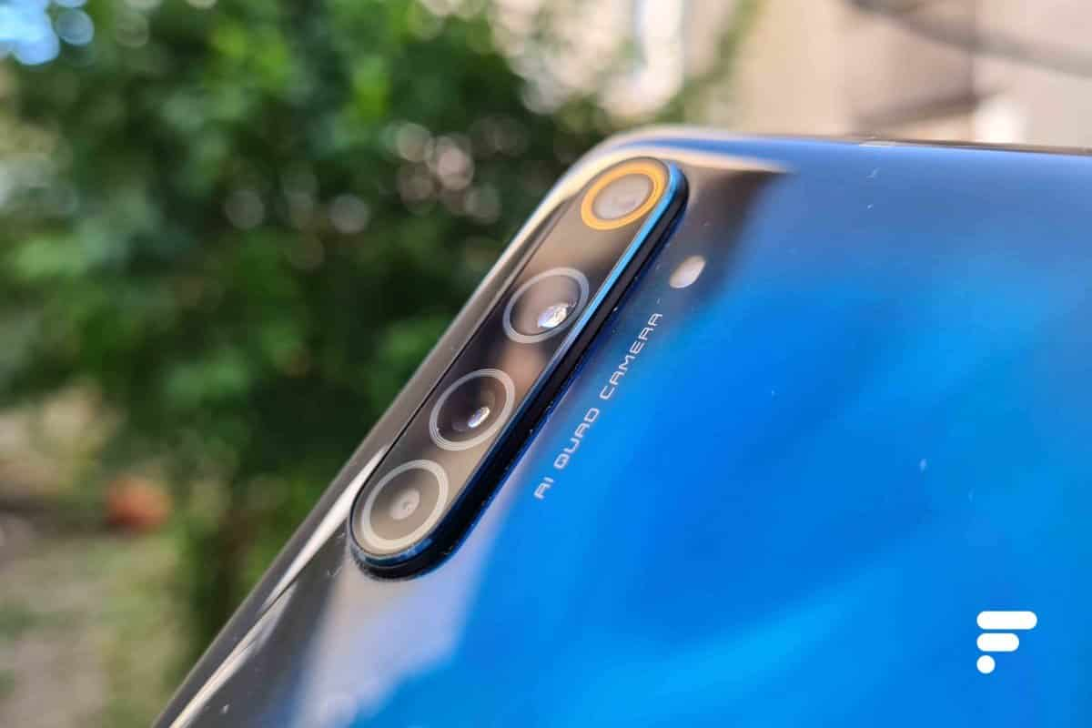 The Realme 6 Pro photo module
