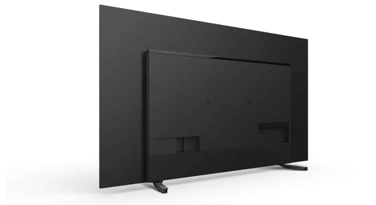 Audio Acoustic Surface takes up space on the back of the TV
