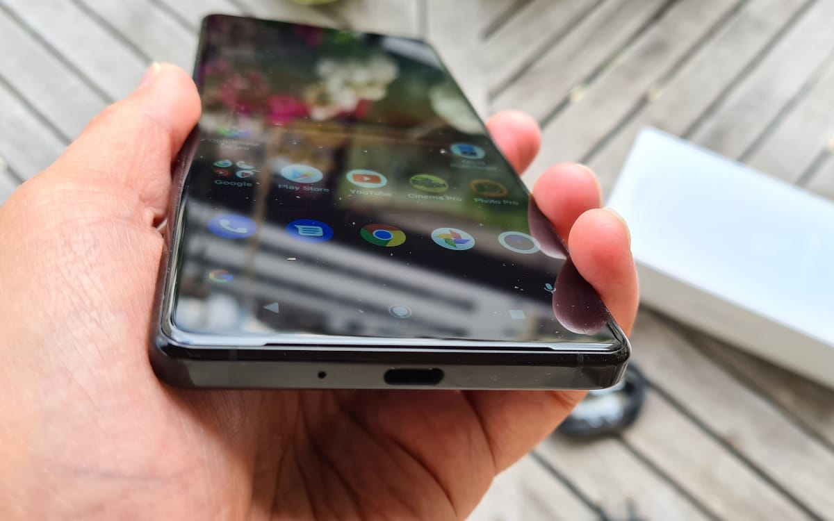 Type C ports for Xperia 1 mark 2